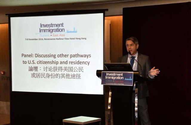 Luật sư José E. Latour tham dự hội nghị Thượng đỉnh về Di trú đầu tư
